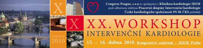 XX. workshop interven�n� kardiologie 2010