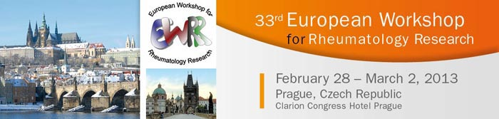 33rd   European Workshop for Rheumatology Research