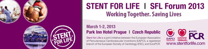 STENT FOR LIFE SFL Forum 2013