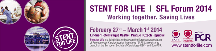 STENT FOR LIFE SFL Forum 2014