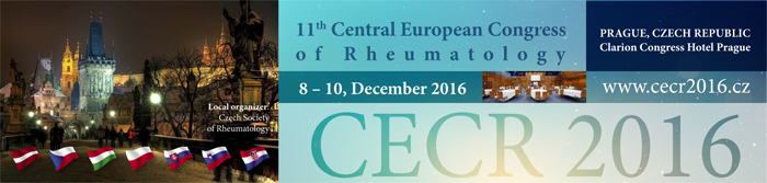 11th Central European Congress of Rheumatology