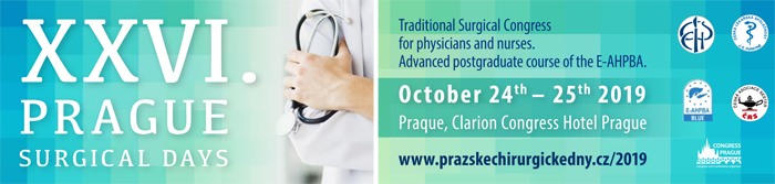 XXVI. PRAGUE SURGICAL DAYS 2019 - Physicians' section