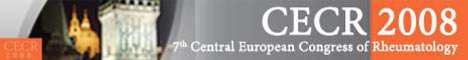 7th Central European Congress of Rheumatology