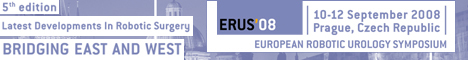 ERUS´08 - EUROPEAN ROBOTIC UROLOGY SYMPOSIUM